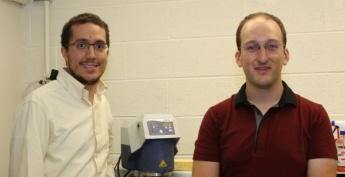 NRL Research Scientist David Carpenter and NSE Professor Mike Short