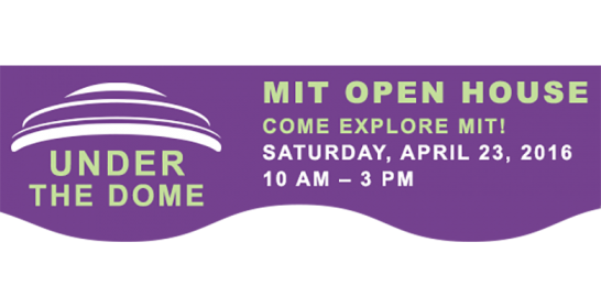 MIT Open House Banner